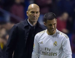 HLV Zidane xác nhận Hazard dính chấn thương, nghỉ thi đấu dài ngày