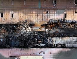 Vụ cháy kho hóa chất: Tồn tại trong không khí nhiều hợp chất dễ bắt cháy