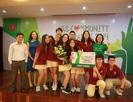 VAS- nơi phát triển năng khiếu và trách nhiệm cộng đồng cho học sinh