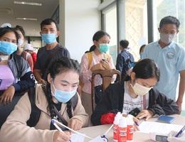 Cách ly 250 sinh viên Lào đến học tập tại Quảng Bình