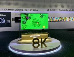 TV OLED 8K đầu tiên trên thế giới về Việt Nam với giá 690 triệu đồng