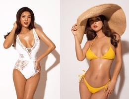 Hoa hậu Oanh Yến khoe dáng với bikini sau 3 tháng sinh con thứ 6