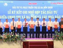 """Doanh nghiệp cam kết """"rót"""" 9.000 tỷ đồng đầu tư 11 dự án tại Quảng Bình"""