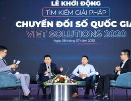 Viet Solutions và cơ hội để các start-up đứng trên vai người khổng lồ