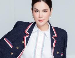 Hoa hậu Phương Lê đẹp thanh lịch trong bộ ảnh mới