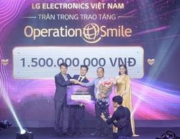 Danh tính người đấu giá thành công TV OLED 8K, cùng LG ủng hộ Operation Smile