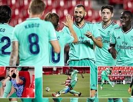 Benzema lập công, Real Madrid tiến gần đến chức vô địch La Liga