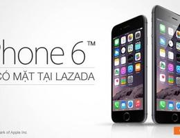 CỰC HOT: iPhone 6 giá rẻ nhất thị trường chỉ có tại Lazada