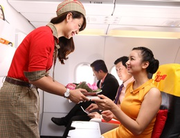 Vietjet tặng vé miễn phí cho khách bay TP.HCM - Đài Bắc