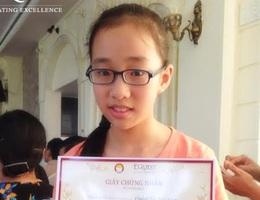 Gặp cô bé giành giải Nhất cả 3 vòng thi EC 2014