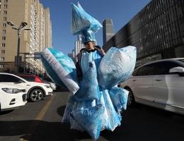 Thời trang có một không hai mang thông điệp bảo vệ trái đất