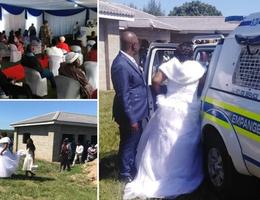 Bắt cô dâu, chú rể ngay tại đám cưới vì vi phạm cách ly xã hội