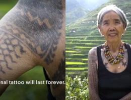 Gặp gỡ cụ bà nghệ nhân xăm hình Philippines 103 tuổi