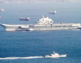 """Báo Nga: """"Đội tàu sân bay Trung Quốc chỉ hiệu quả trước đối thủ yếu"""""""