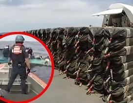 Tuần tra bờ biển Mỹ chặn bắt tàu ngầm chở 6 tấn cocaine