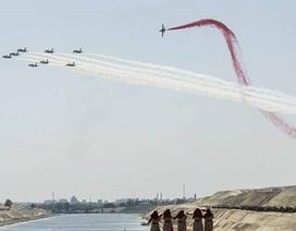 Ai Cập mở nhánh kênh đào Suez mới trị giá 8,5 tỷ USD