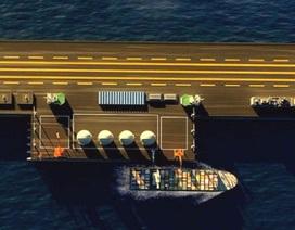"""Trung Quốc ôm mộng chế tạo hàng loạt đảo nổi """"khổng lồ""""?"""