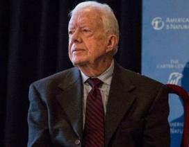 Cựu Tổng thống Mỹ Jimmy Carter thông báo bị ung thư