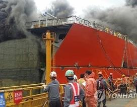 Hàn Quốc: Cháy xưởng đóng tàu của Daewoo, 2 người chết