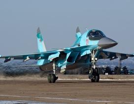 Nga điều thêm 6 chiến đấu cơ Su-34 tới Syria