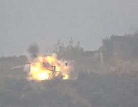 Trực thăng Nga bị phiến quân Syria bắn nổ tung