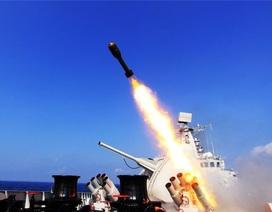 Trung Quốc lại tập trận bắn đạn thật trên Biển Đông