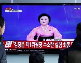 Triều Tiên đưa phát thanh viên 73 tuổi trở lại loan tin thử bom nhiệt hạch