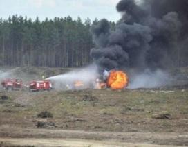 Trực thăng Nga rơi khi hạ cánh khẩn, 4 quân nhân tử nạn