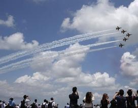 Singapore rầm rộ khai mạc triển lãm hàng không