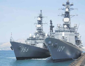 Uy lực cặp chiến hạm Nhật sắp cập cảng Cam Ranh