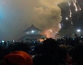 Hỏa hoạn kinh hoàng trong đền thờ ở Ấn Độ, ít nhất 100 người chết