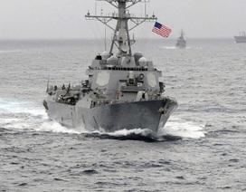 Vì sao Mỹ hủy kế hoạch tuần tra trên Biển Đông để ưu tiên bãi cạn Scarborough?