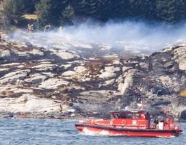 Rơi trực thăng ở Na Uy, ít nhất 11 người chết