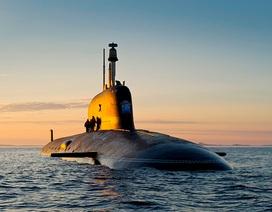 Xem tàu ngầm hạt nhân Nga tập trận phóng tên lửa Kalibr