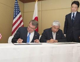 Mỹ dỡ bỏ hạn chế mua sắm thiết bị quân sự Nhật Bản