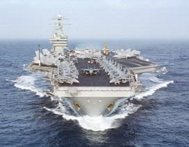 Mỹ đưa tàu sân bay thứ 2 tới Địa Trung Hải