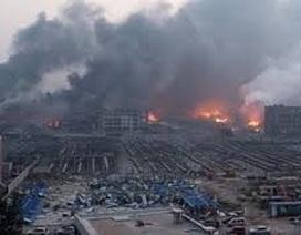 Nổ nhà máy hóa chất tại Chiết Giang, Trung Quốc