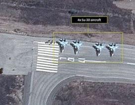 Xuất hiện video máy bay ném bom Su-24 của Nga tại Syria