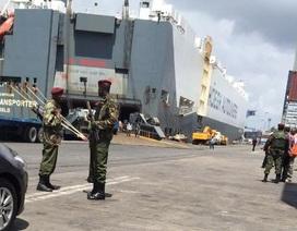 Tàu hàng Na Uy bị phát hiện chở vũ khí trái phép
