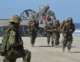 Mỹ triển khai 30.000 lính thủy đánh bộ đến châu Á-Thái Bình Dương