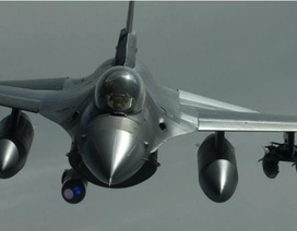 Chiến đấu cơ F-16 của Mỹ trúng hỏa lực tại Afghanistan