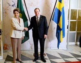 Brazil mua 36 máy bay chiến đấu của Thụy Điển