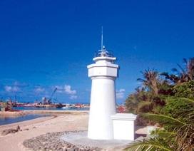 Đài Loan xây xong hải đăng trái phép tại đảo Ba Bình