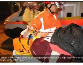 Tai nạn phà tại Hồng Kông, ít nhất 100 người bị thương