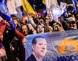 Bầu cử Quốc hội Thổ Nhĩ Kỳ: Đảng cầm quyền thắng áp đảo