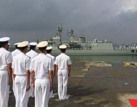 Hải quân Úc-Trung tập trận bắn đạn thật trên Biển Đông