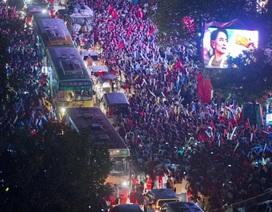 Đảng của bà Aung San Suu Kyi ăn mừng kết quả bầu cử sơ bộ