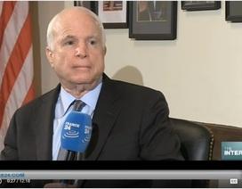 Thượng nghị sĩ McCain hối thúc Mỹ điều 10.000 lính bộ tới Syria tiêu diệt IS