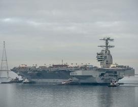 Mỹ có thể đồn trú 2 tàu sân bay ở Nhật Bản