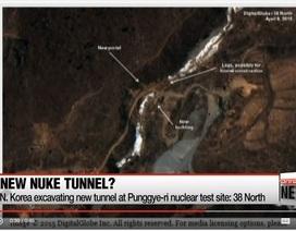 """Ảnh vệ tinh """"tố"""" Triều Tiên đào đường hầm mới để thử hạt nhân"""